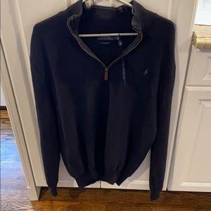 Polo Ralph Lauren quarter zip sweater NEW large